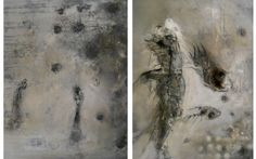 lachse3 Francis Bacon Studio, Art Atelier, Abstract Paintings, Beige, Art, Animaux, Abstract Pictures, Painting Abstract, Abstract Landscape