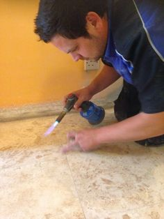 travertine hole repair art of clean