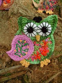 Fiddlesticks - My crochet and knitting ramblings.: Hoot - Hoot!