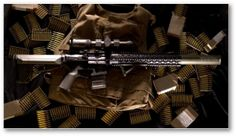 Integrally Suppressed 458 Socom AR15 by Red Jacket Firearms......I WANT ONE!