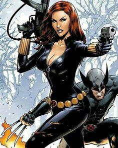 Black Widow & Wolverine