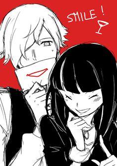 Smile Decim-kun and Chiyuki-san!