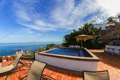 http://www.tropicasa.com/Puerto_vallarta_real_estate_Amapas_958.html - Beautifully remodeled Penthouse unit with all-encompassing views in Villas Loma Linda. Maintaining the colonial charm, the kitchen and both bathrooms have been completely updated to today's...