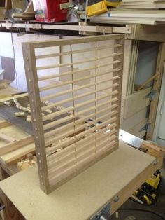 Paper Mold and Deckle #2: frame and support bars - by mileskimball @ LumberJocks.com ~ woodworking community
