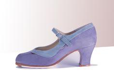 https://www.tamaraflamenco.com/es/zapatos-de-flamenco-profesionales-4 Zapato profesional de flamenco Begoña Cervera Modelo Salon Correa II