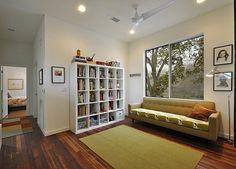 Bright interior of a modular home