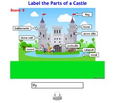 Castles is a FANTASTIC topic for both and Learn about Castle Staff, Explore Castles around the UK and find lesson ideas and interactive resources. Did Dragons Exist, Castles Ks1, Knights And Castles Topic, Castle Crafts, Castle Project, Traditional Tales, Dragon Tales, Home Learning, Math For Kids