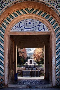 Bagh-e Shahzadeh. Kerman, Iran.