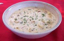 Low-Carb Clam Chowder - without potatoes!