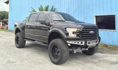 "Lifted 2015 Ford F150 with ReadyLIFT 7"" Lift Kit"