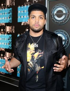 "celebritiesofcolor: ""O'shea Jackson Jr attends the 2015 MTV Video Music Awards at Microsoft Theater on August 30, 2015 "" Hey wassup hello!"