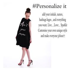 Personalize Extravagant Asymmetrical Dress / by Odd13Boutique