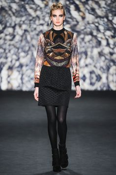 New York Fashion Week February 2014  Nicole Miller Collection