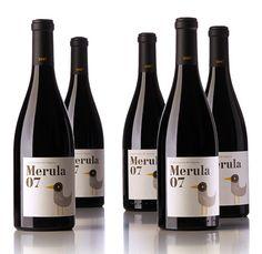 wine label bird - Cerca con Google