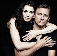 Rachel Weisz & Daniel Craig Really who knew?  If it's got to be someone, it's good it's Rachel. . . Love her too.