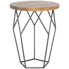 Aquarius Side Table 44cm | Freedom Furniture and Homewares