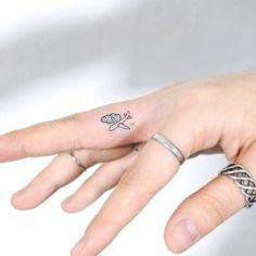 Tiny airplane by tattooist_suya · thedayafter_tattoo Seoul Mini Tattoos, Little Tattoos, Cute Tattoos, Beautiful Tattoos, Small Tattoos, Word Tattoos, Unique Tattoos, Finger Tattoo For Women, Finger Tattoos