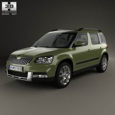 Skoda Yeti Outdoor 2014 3d model from humster3d.com. Price: $75