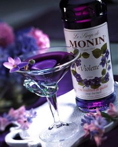Made famous in 1917, A key ingredient, Crème de Violette, a brandy made with violet flowers, has been hard to find in the U.S. until the recent decade.