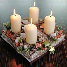 .square Advent wreath: