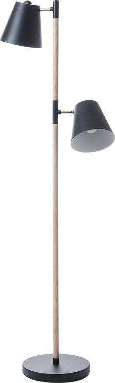 Stehlampe Rubi - Schwarz - Leitmotiv