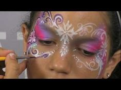 Pretty Face Painting Mask Design & Tutorial