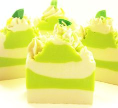 Coconut Lime Handmade Vegan Artisan Cold Process Soap by svsoaps