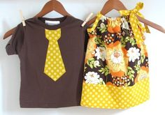 coordinating boy and girl clothes #L #E