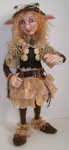 Gwyneth the Steampunk Elf
