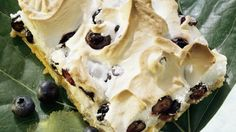 Blaubeer-Baiser-Kuchen
