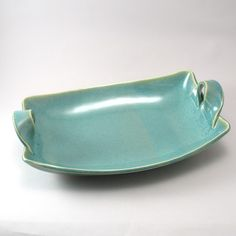 Serving Dish in Pearl Green Glaze
