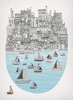 Joppa Art Print by David Fleck