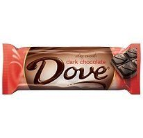 Dove Dark Chocolate Bars - 18 ct.