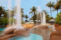 Ocean rock pool at The Westin Langkawi Resort