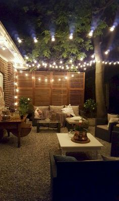 The Happiness of Having Yard Patios – Outdoor Patio Decor Backyard Patio Designs, Small Backyard Landscaping, Pergola Patio, Small Patio, Backyard Projects, Patio Ideas, Landscaping Ideas, Backyard Ideas For Small Yards, Backyard Ideas On A Budget