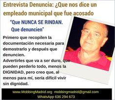 PRIDICAM www.MobbingMadrid.org : Entrevista Denuncia:¿Que nos dice un empleado muni...