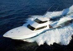 A 77' Hatteras sport fisherman. Holy crapoly.