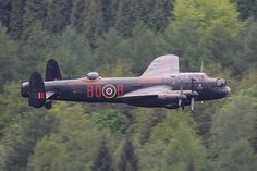 The Battle of Britain Memorial Flight Avro Lancaster B1 (PA474) at the 65th Anniversary of the Dambuster Raid over Derwent Reservoir