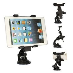 6.5cm-14cm Car Windshield Suction Cup Mount Holder For iPhone 6S Plus iPad Mobile Phone. 6.5cm-14cm Car Windshield Suction Cup Mount Holder For iPhone 6S Plus iPad Mobile Phone Tablet GPS    This versatile suction mount is perfect for mounting your iPhone/Ipad mini on your car windshield or many flat surfaces such as desktop, and comfortably watch movies, TV or play video games. The holder can be adjusted and rotated to so we are sure you will have the perfect viewing angle.  …