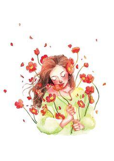 Cartoon Kunst, Cartoon Art, Paintings Tumblr, Deviant Art, Art And Illustration, Illustrations, Anime Art Girl, Cute Drawings, Art Pictures