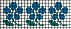 This Pin was discovered by sen Tiny Cross Stitch, Cross Stitch Borders, Cross Stitch Flowers, Cross Stitch Designs, Cross Stitching, Cross Stitch Embroidery, Cross Stitch Patterns, Fair Isle Knitting Patterns, Knitting Charts