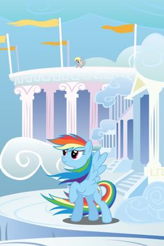 Rainbow Dash Windy Mane iPhone Wallpaper by RDbrony16.deviantart.com on @DeviantArt