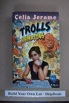 nice Paperback Fantasy by Celia Jerome Trolls In The Hamptons ShipDeals Build-A-Lot - For Sale View more at http://shipperscentral.com/wp/product/paperback-fantasy-by-celia-jerome-trolls-in-the-hamptons-shipdeals-build-a-lot-for-sale/