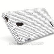 Silver Bling Hard Cover Case for the LG Optimus L9 P769 $10.95 > 10% coupon code : Pinit