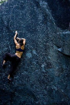 Rock climbing is another hobby of mine. I use to work at a rock climbing wall. In fact, it was one of my first jobs. I worked there for just over three years while also leading outdoor climbing and backpacking trips. Climbing Girl, Sport Climbing, Ice Climbing, Climbing Workout, Mountain Biking, Mountain Climbing, Blue Mountain, Cardio Yoga, A Well Traveled Woman