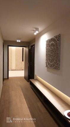 Egyik kedvenc tervezésem - Középpont jóga stúdió. Visszafogott nyugodt terek, indirekt világítások, kiegyensúlyozott színvilág. Interior Design Living Room, Interior Decorating, Mandala, Wedding Decorations, Led, House Design, House Styles, Modern, Interiordesign