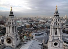 St. Paul Cathedral in London, England