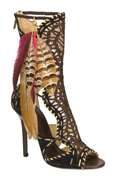 Jimmy Choo cage booties..