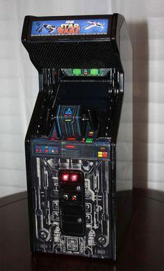 Star Wars Micro Replicates Classic Arcade Cabinet
