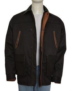 corey hawkins the walking dead heath black jacket